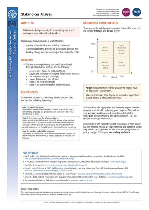 Stakeholder Analysis Template - 13+ Examples for Excel