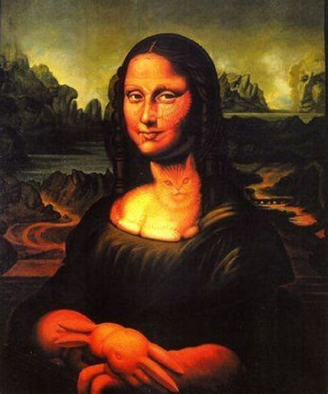 picture: 12 Funny Mona Lisa Recreations