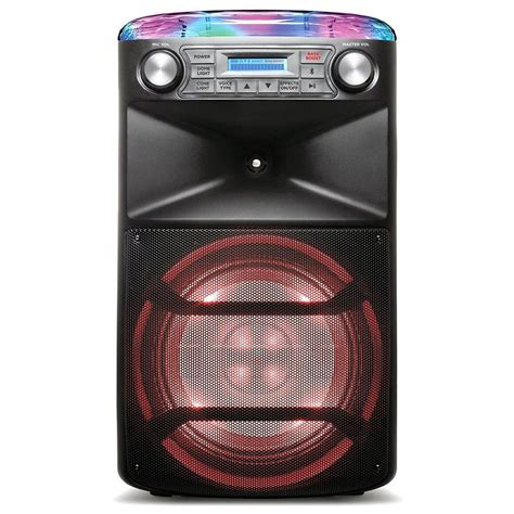 Ion Karaoke Machine with One 10″ Woofer, 120 Watts – The