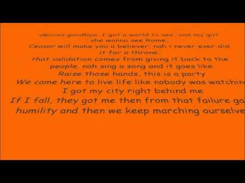 MACKLEMORE & RYAN LEWIS - CAN'T HOLD US BASS BOOSTED - YouTube