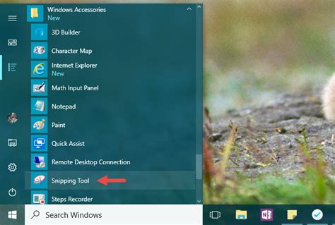 How to take screenshots with the Snipping Tool in Windows