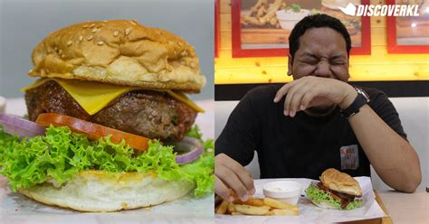 Spiciest Burger in Malaysia Review At Salt and Pepper