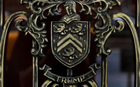 Donald Trump using family crest granted to Mar-a-Lago's