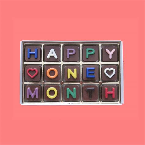 One Month Anniversary Quotes & Paragraphs for Him and Her