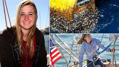 Abby Sunderland: Barnacled boat turns up eight years after