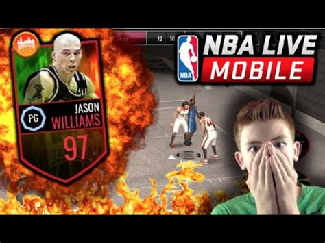 NEW CHICAGO BLACKTOP NBA LIVE MOBILE UPDATE! 97 OVERALL