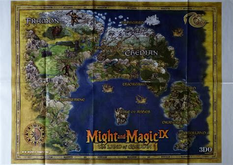 Computer Game Museum Display Case - Might and Magic IX