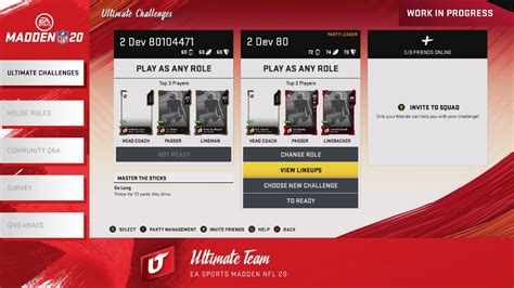 Madden NFL 19 Ultimate Team Database - Muthead