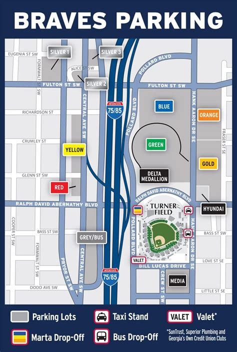 Turner Field Parking - Accessibility and Ease - Stadium