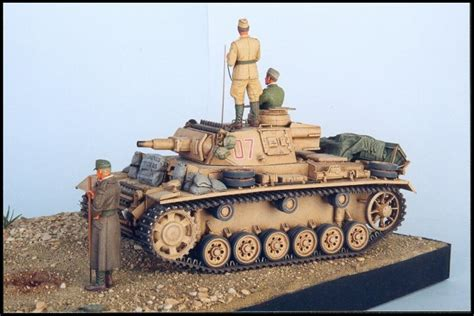 Missing Links Gallery Tom Cockle Panzer III Ausf
