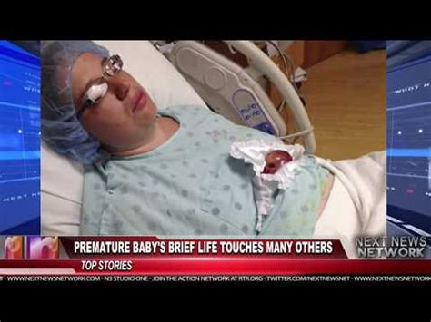 Premature Baby's Brief Life Touches Many Others - YouTube