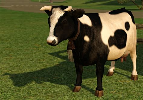 Mod The Sims - Default Cow Re-texture for the Farm Fresh
