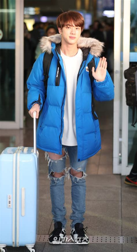 [Picture/Media] BTS Jin at Incheon Airport Go To Sulawesi