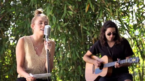 """Miley Cyrus - The Backyard Sessions - """"Lilac Wine"""" - YouTube"""
