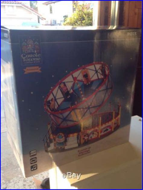 Carole Towne ROUND UP Carnival Ride Light Up Musical new