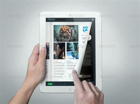 eMagazine Mock-up by kenoric   GraphicRiver