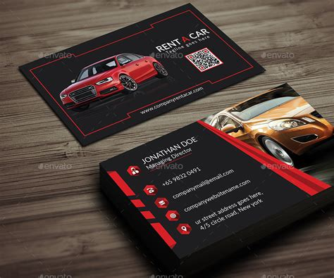 Rent A Car Business Card by Ancient_Ego   GraphicRiver