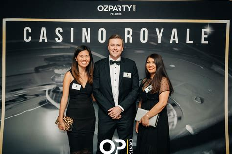 Casino Royale Themed Banquet and Drinks Platinum - Choose