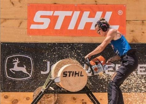 Woodchopping takes a step closer to gender equality
