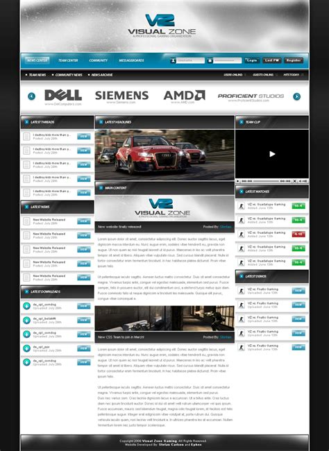 25 Awesome Game Website Designs For Your Inspiration