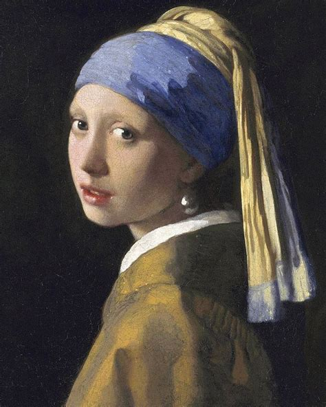 GIRL WITH A PEARL EARRING, 1665   JOHANNES VERMEER (With