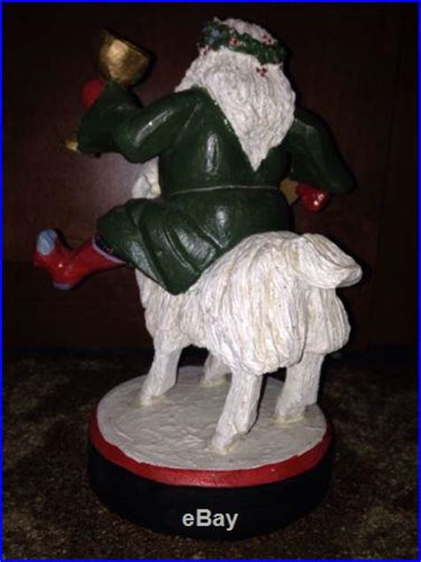 House of Hatten Santa Riding A Billy Goat 1992 – Christmas