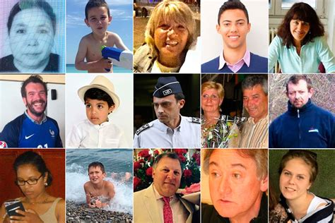 Names of victims killed in Nice truck attack