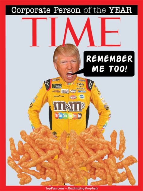 FREE POLITICAL POSTER: TIME Magazine Corporate Person of