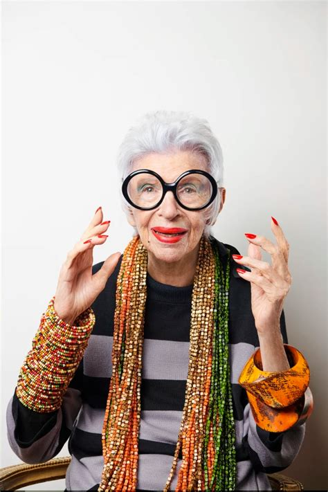 'You're as old as you feel': At 97, Iris Apfel is a