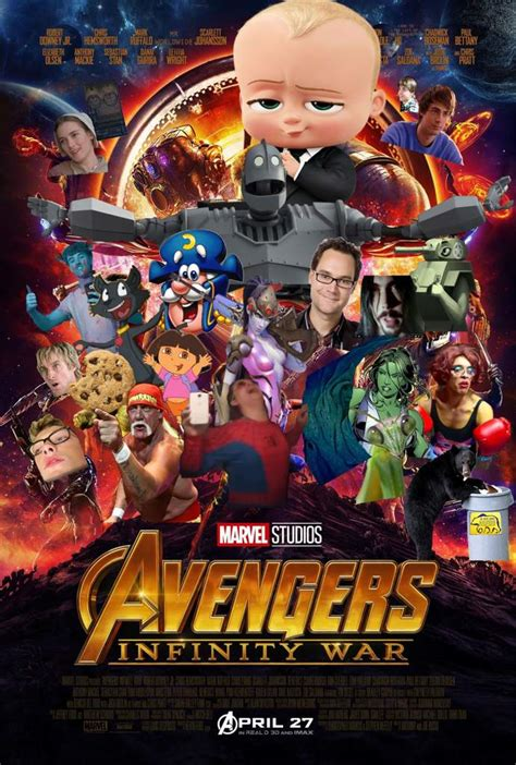 """""""Infinity war is the most ambitious crossover yet"""" 