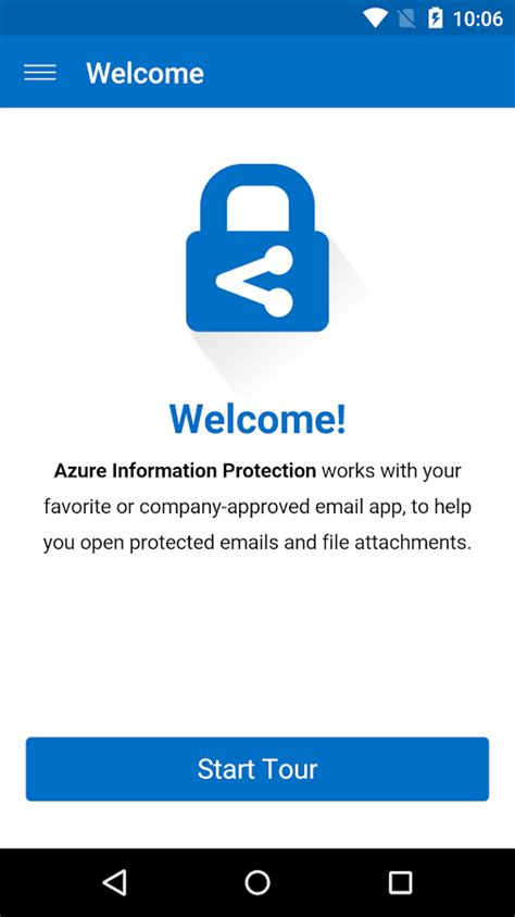 Azure Information Protection - Google Play の Android アプリ