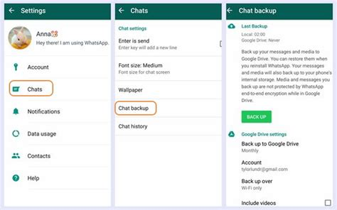 Two Ways to Backup WhatsApp Messages on Galaxy S8