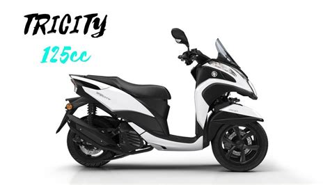 2018 YAMAHA TRICITY 125CC REVIEW, SPECS AND PRICE - YouTube