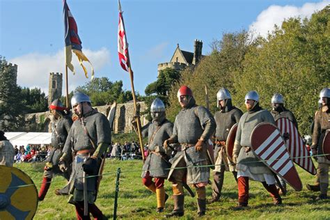 Battle of Hastings 2014 Re-enactment in Pictures: Sun