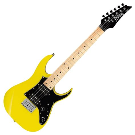 Ibanez MiKro GRGM21M Electric Guitar, Yellow at Gear4music