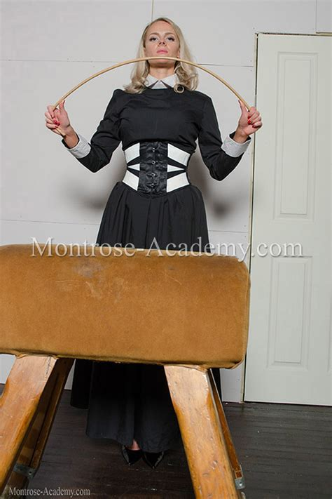 Strapped and caned by Miss Granger in the Reformatory
