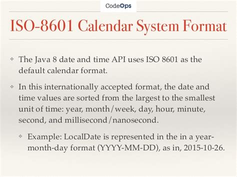 Images of ISO 8601 - JapaneseClass